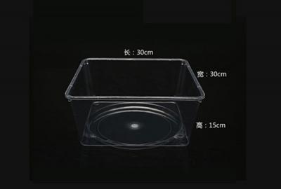 全透明食品盒
