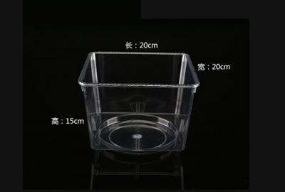 亚克力全透明食品盒