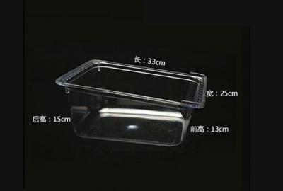 全透明高低盒