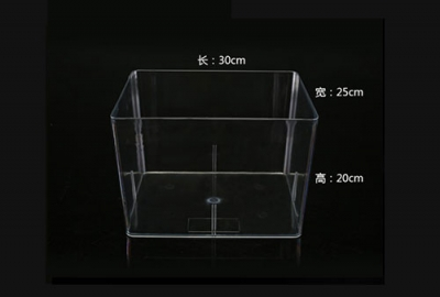 河池全透明食品盒尺寸