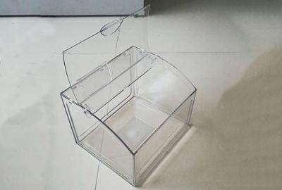 掀盖透明食品盒